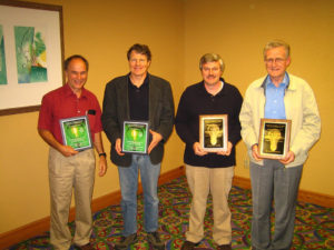 2008 Awardees- Ray Wheeler, Bruce Bugbee, David Tremmel, Lynton Incoll