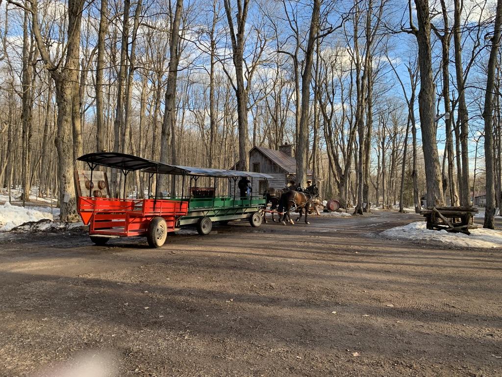 Sucrerie De-La Montagne Wagon Ride